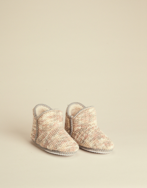 TRICOT SLIPPERS BOOT