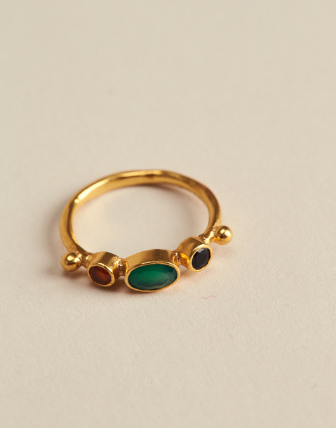 GOLDEN BATH MULTICOLOR RING