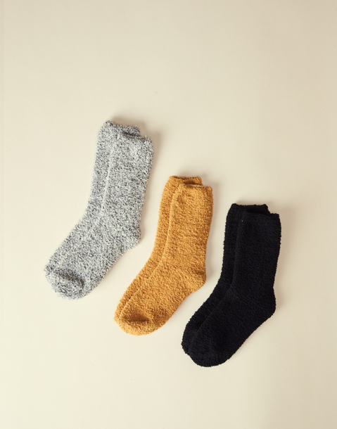 FLEECE SOCKS 3-PACK MEN