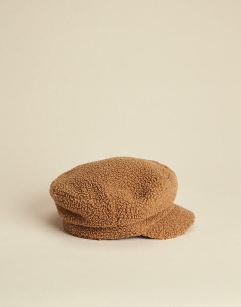 Nautical fleece hat