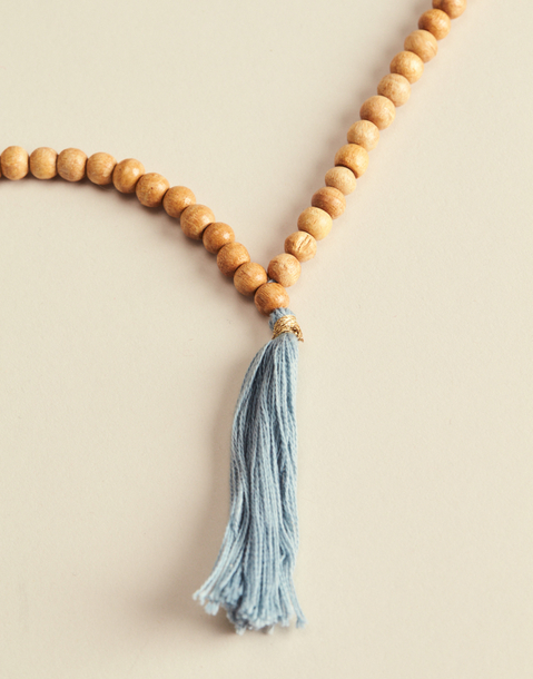 POMPOM MALA NECKLACE