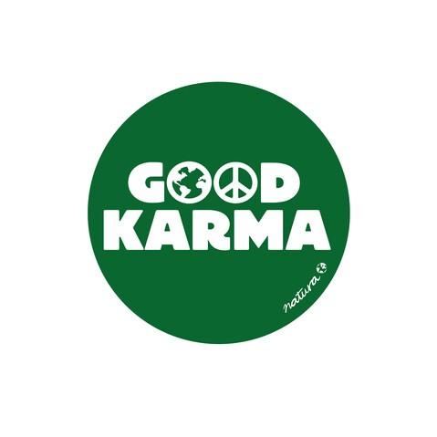 PEGATINA GOOD KARMA