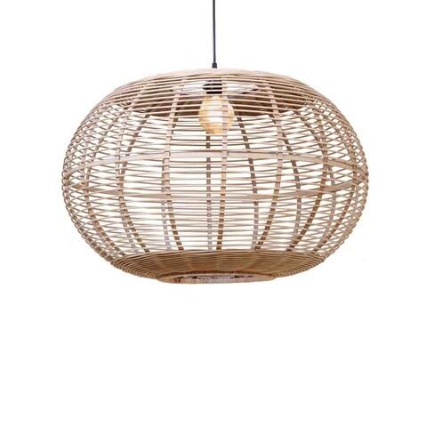 ROUND BAMBOO LAMP