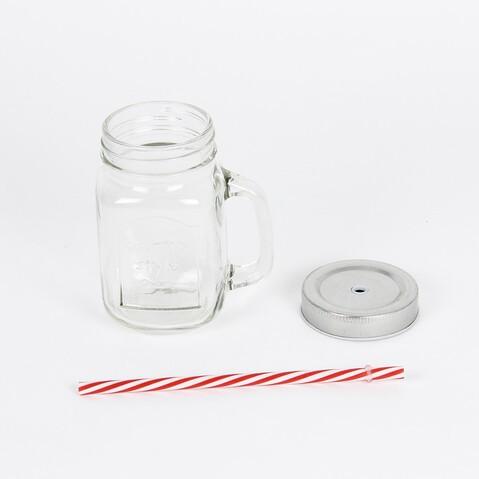 JAR WITH STRAW