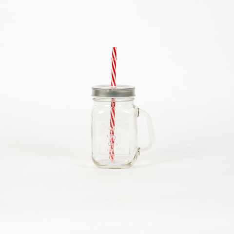 TWIST STRAW JAR
