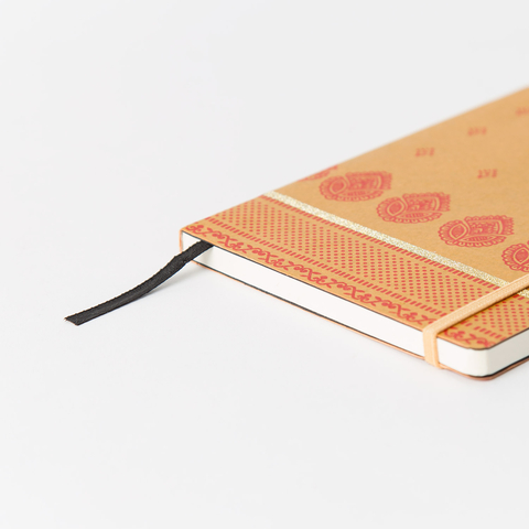 INDIA NOTEBOOK WITH ELASTIC BAND