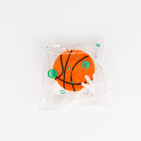 SET OF 2 BASKETBALL SCRUBBERS