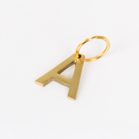 LETTER KEY-CHAIN