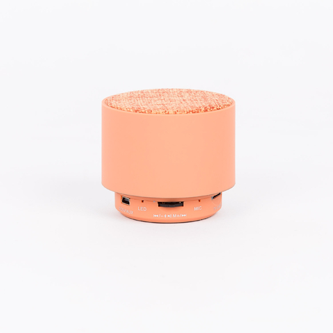 CYLINDRICAL BLUETOOTH SPEAKER