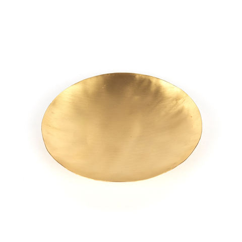 BRASS CANDLE HOLDER 16 CM