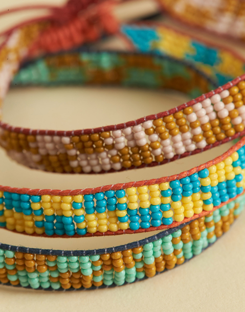 PULSERA MULTICOLOR BEADS