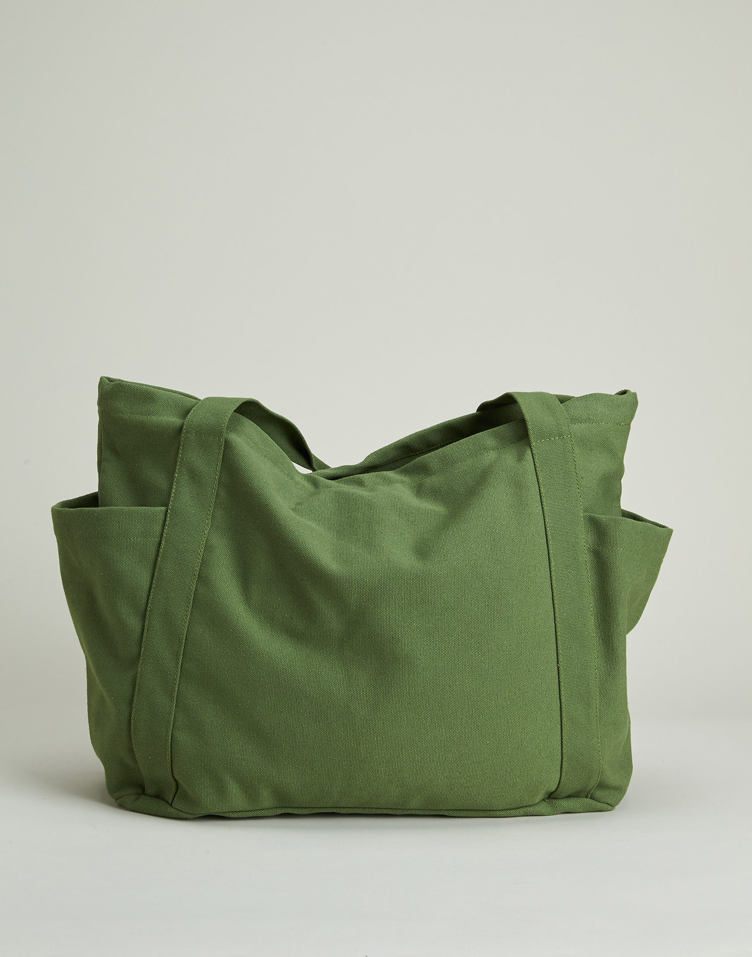 Multi pocket canvas bag