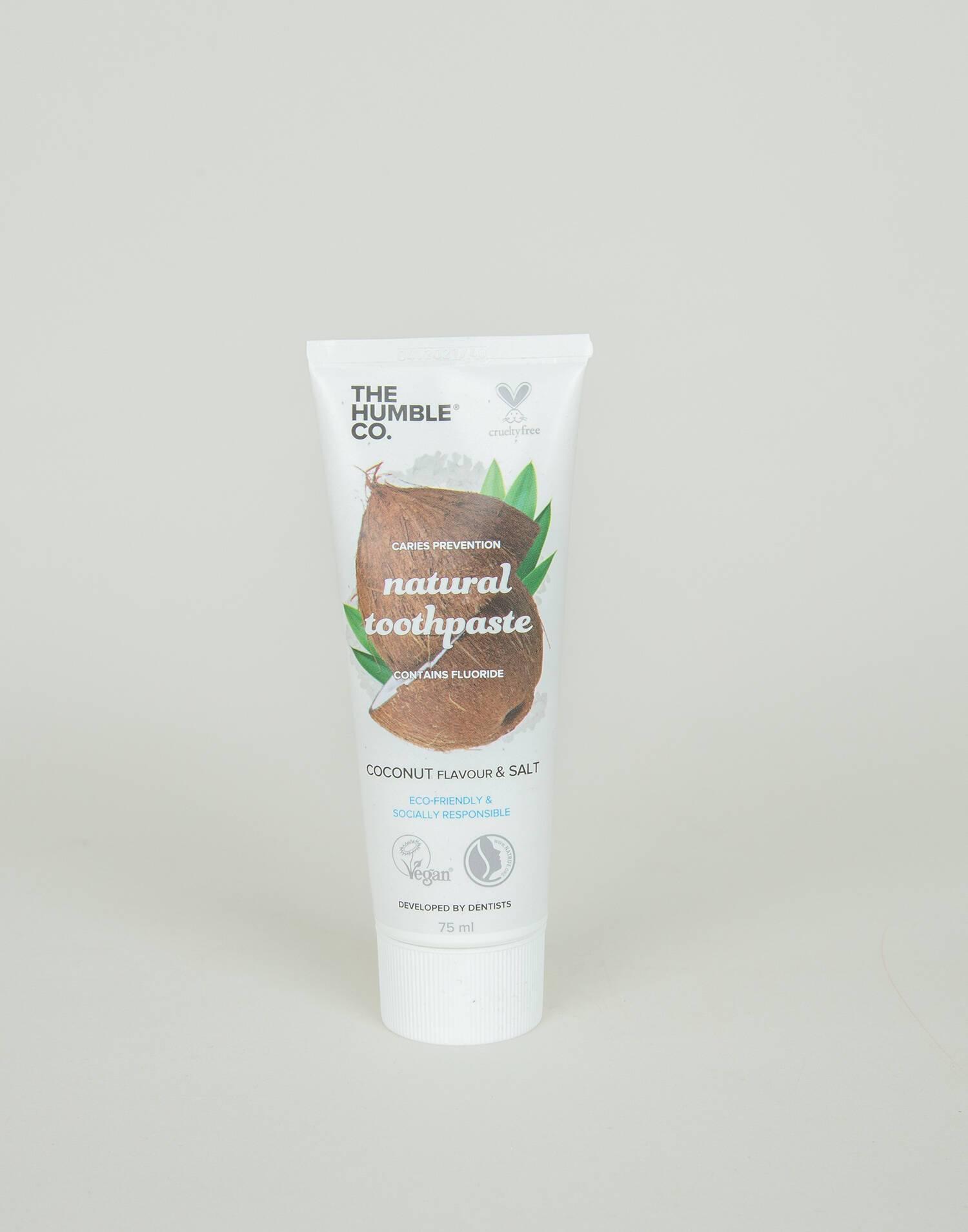 Pasta dental natural coconut&salt