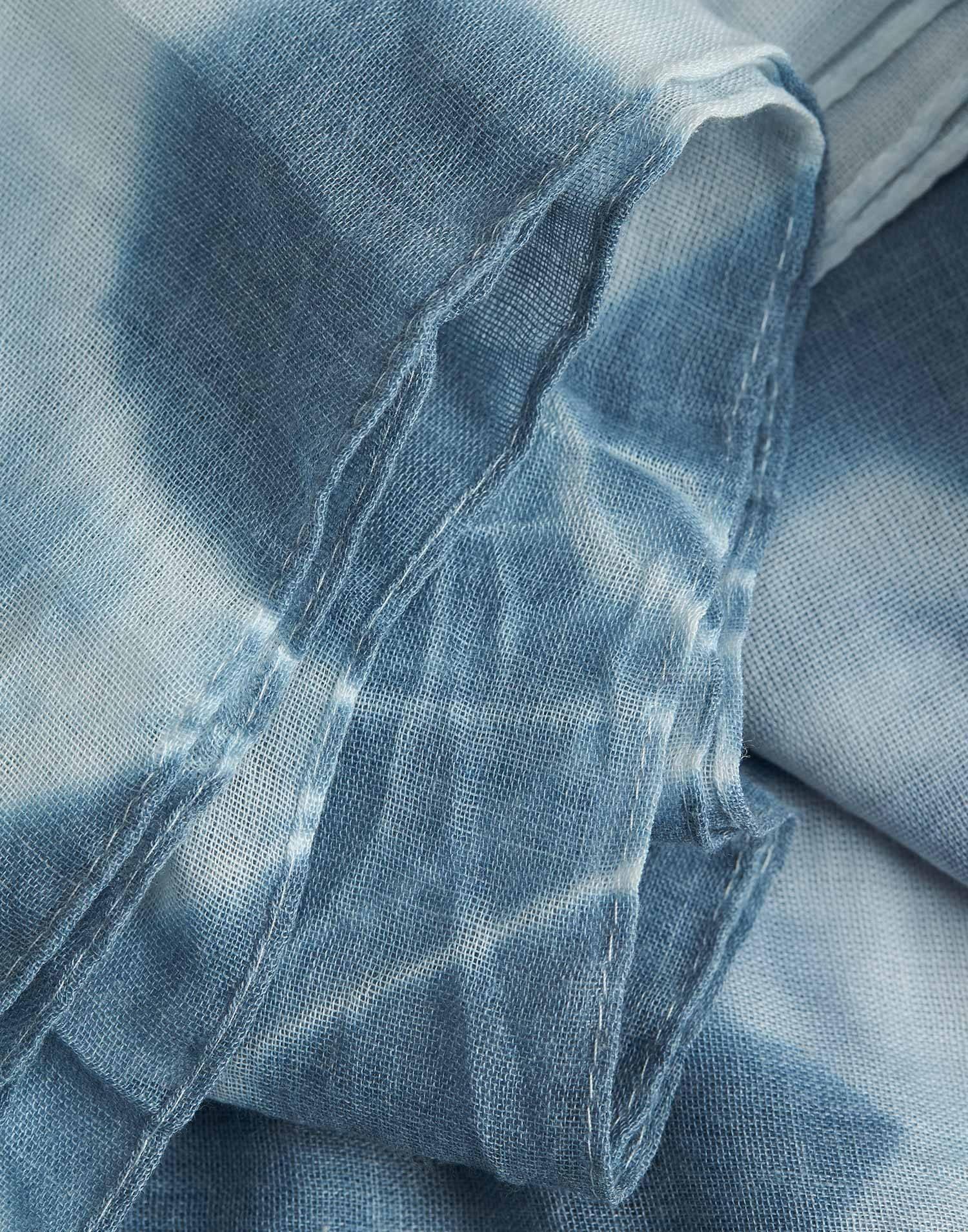 Fular print tie dye