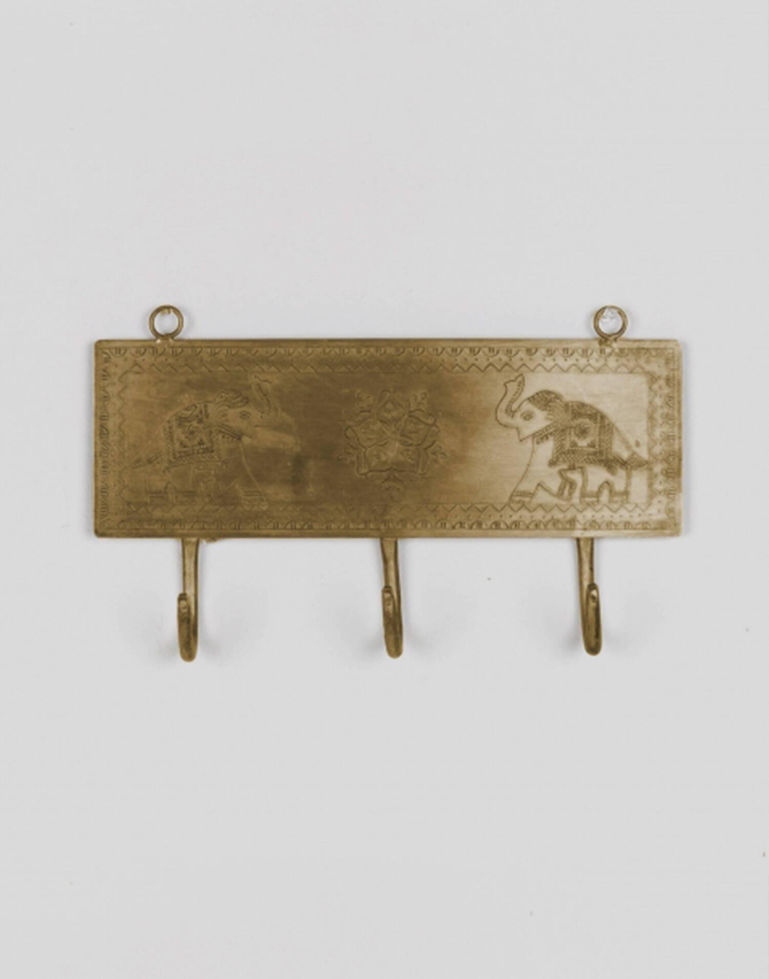 Brass indian hanger