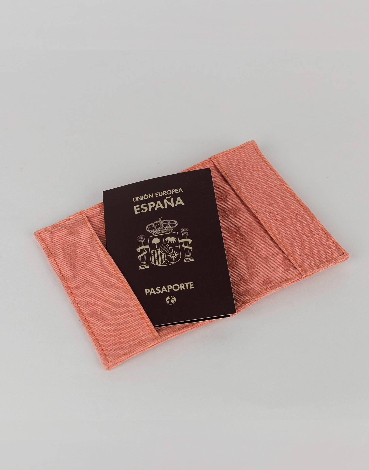 Pasaportera cotton indi