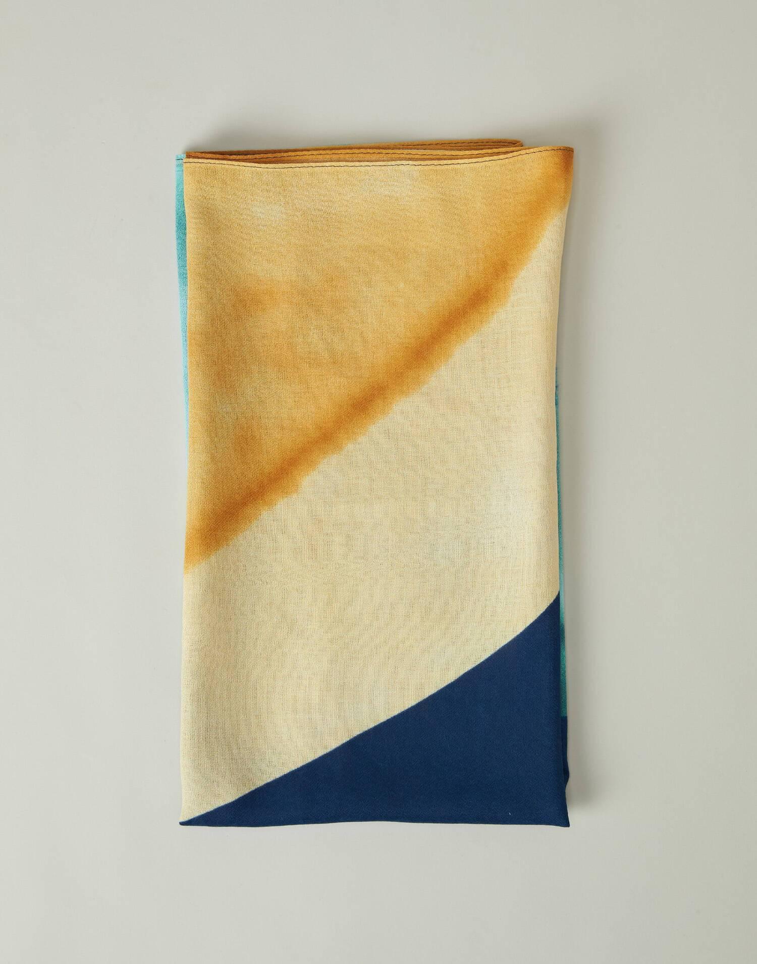 Watercolor foulard