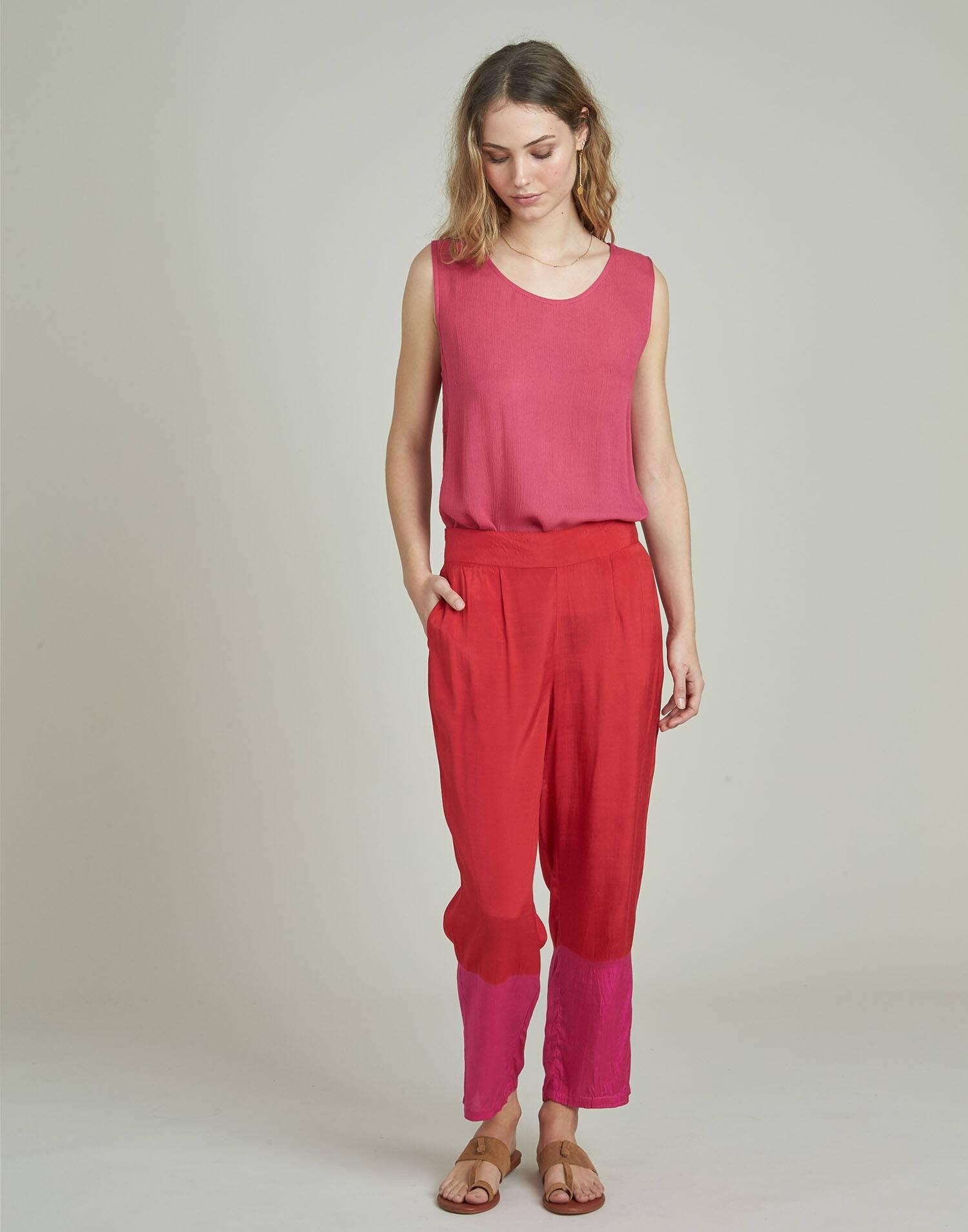 Pantalón print degradado