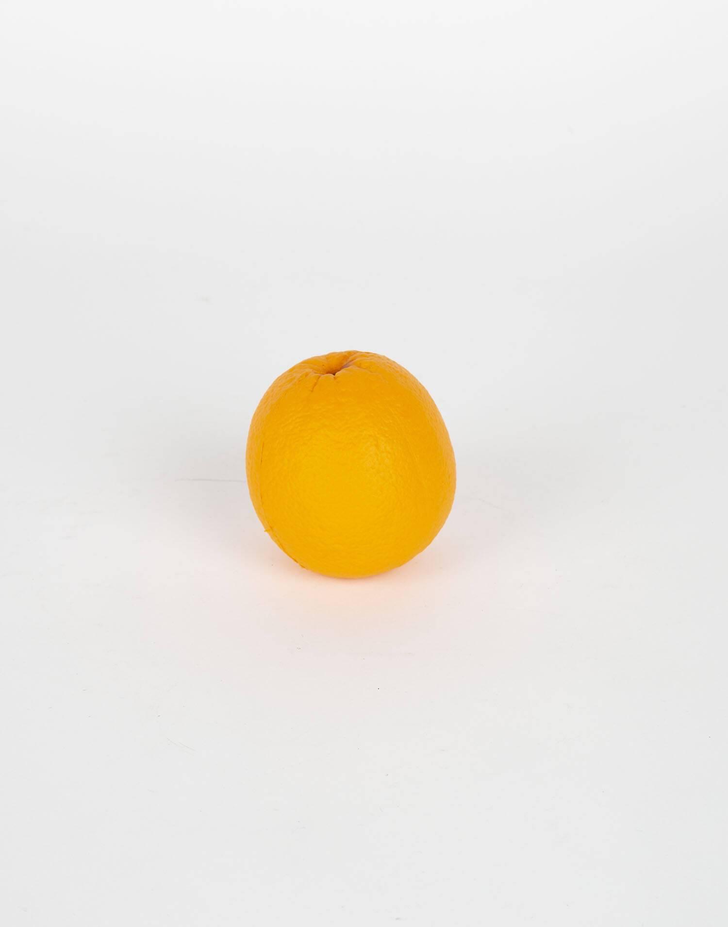 Orange squishy ball