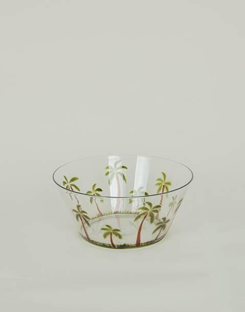 Palmtree salad bowl