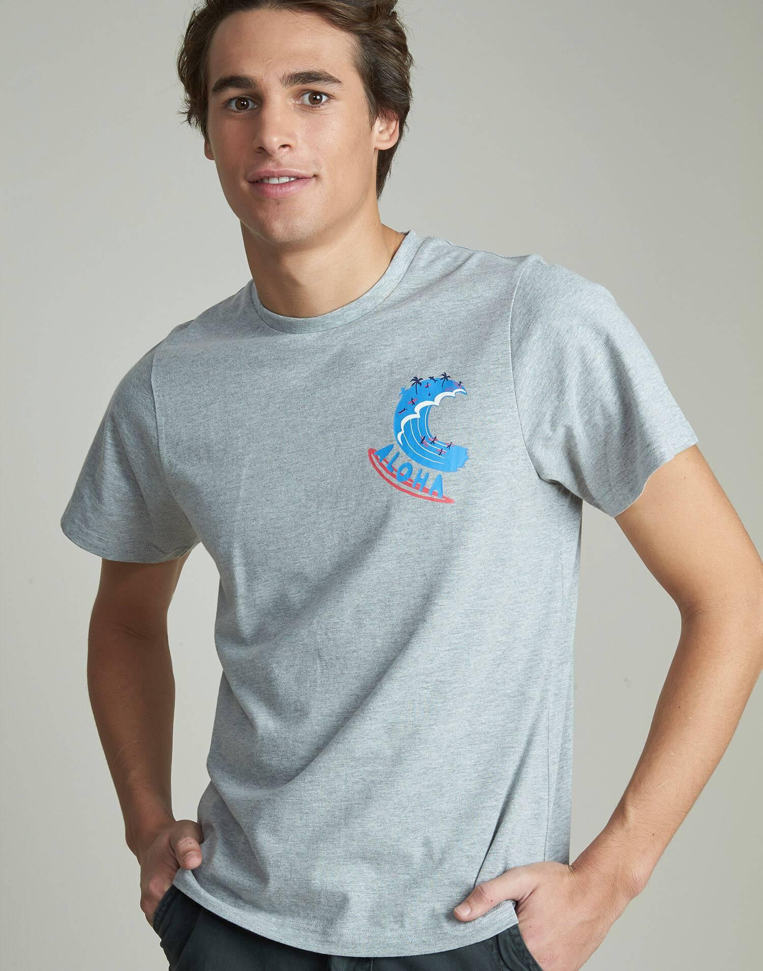 Camiseta hombre aloha