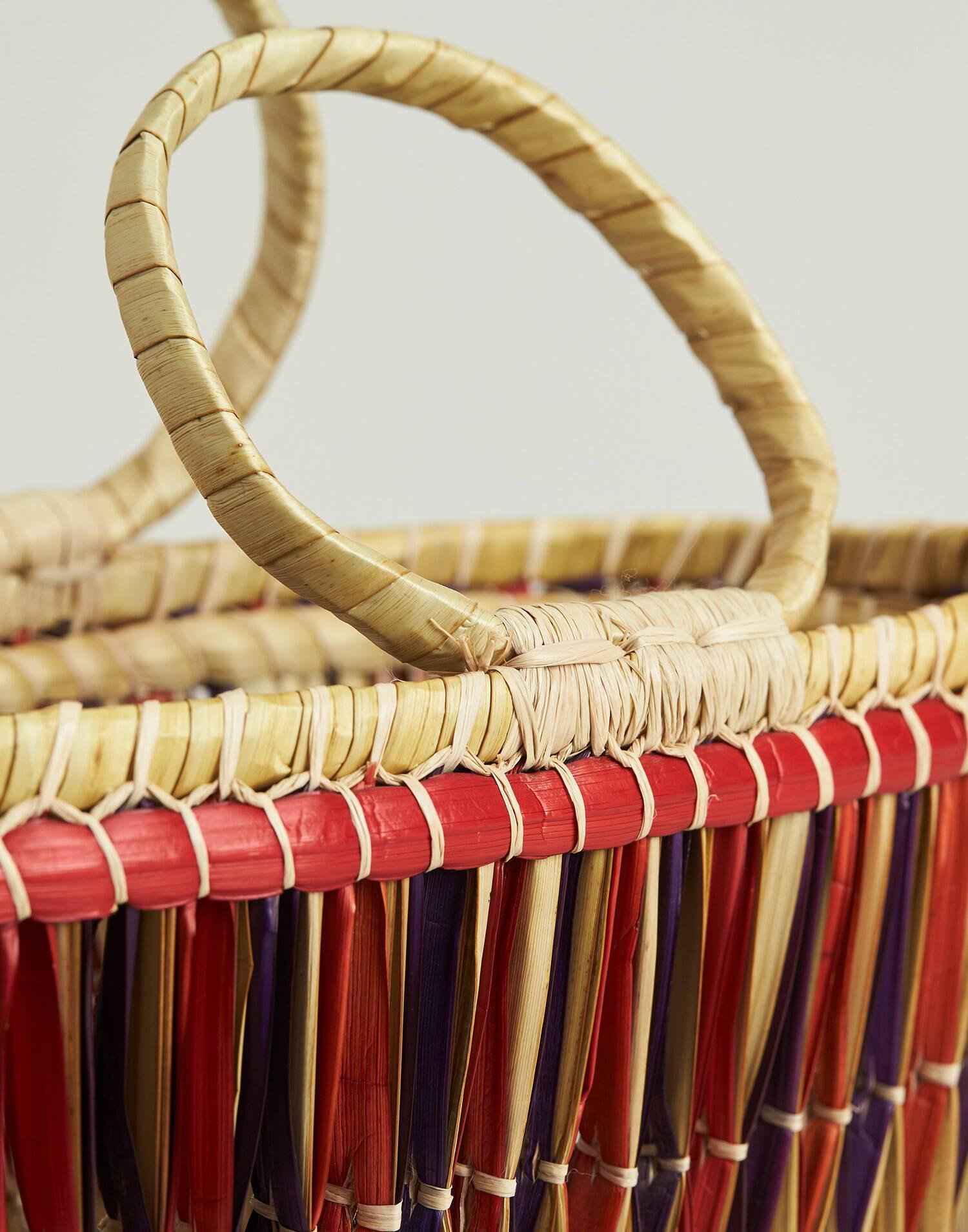 Capazo madagascar multicolor
