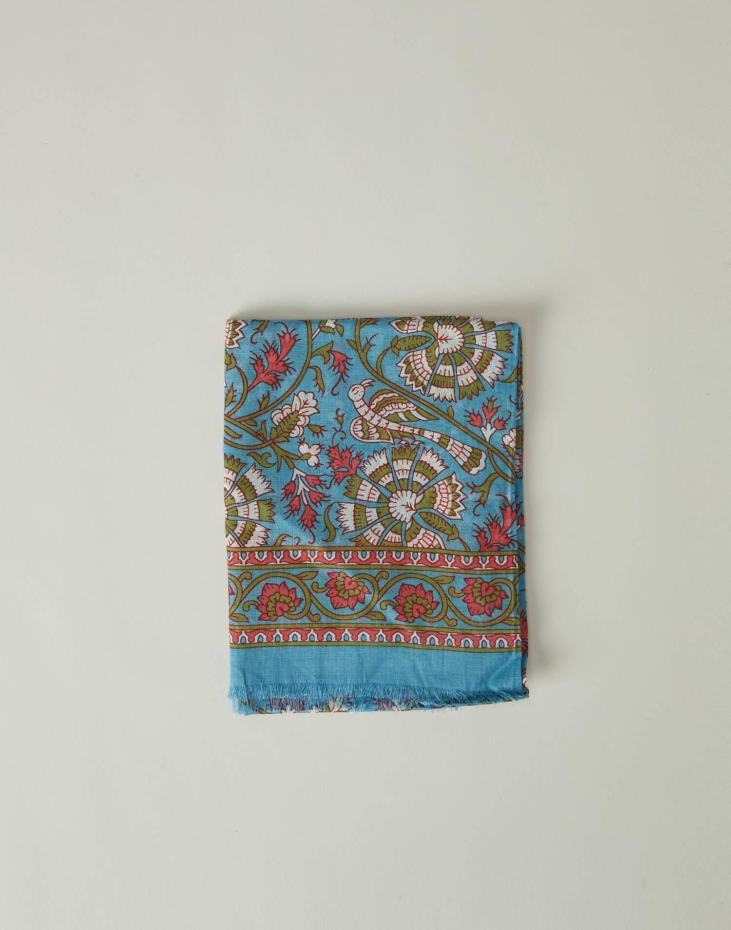 Indian print foulard