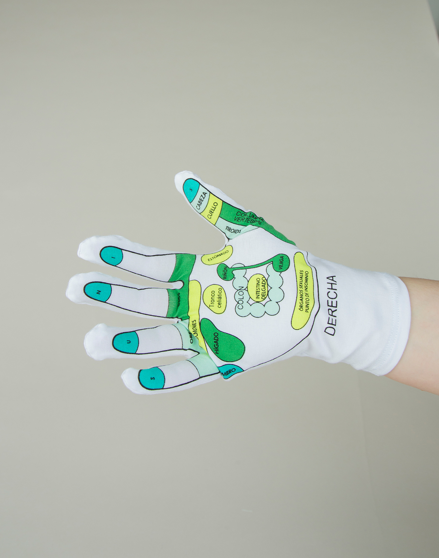 Acupuncture glove