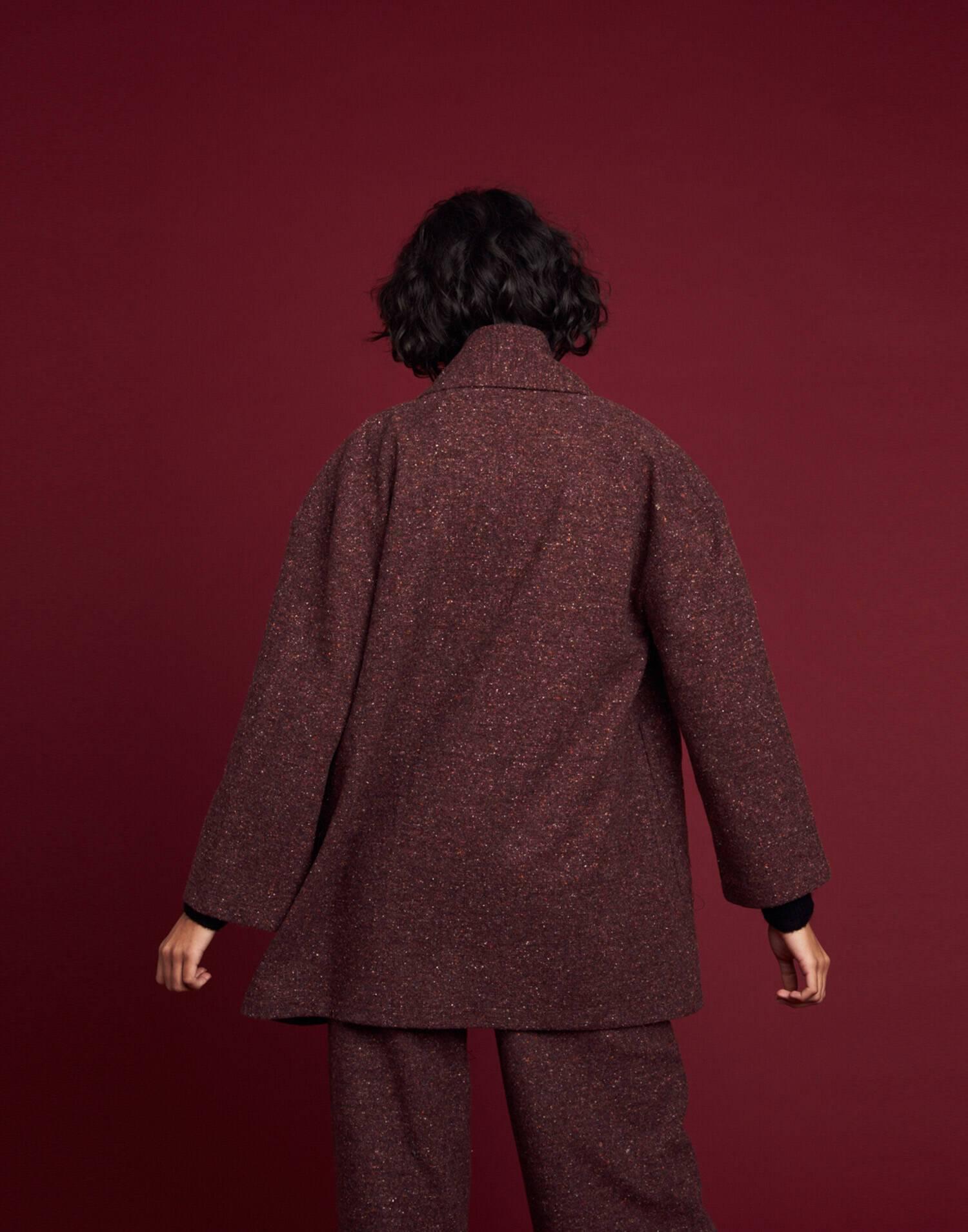 Mottled coat