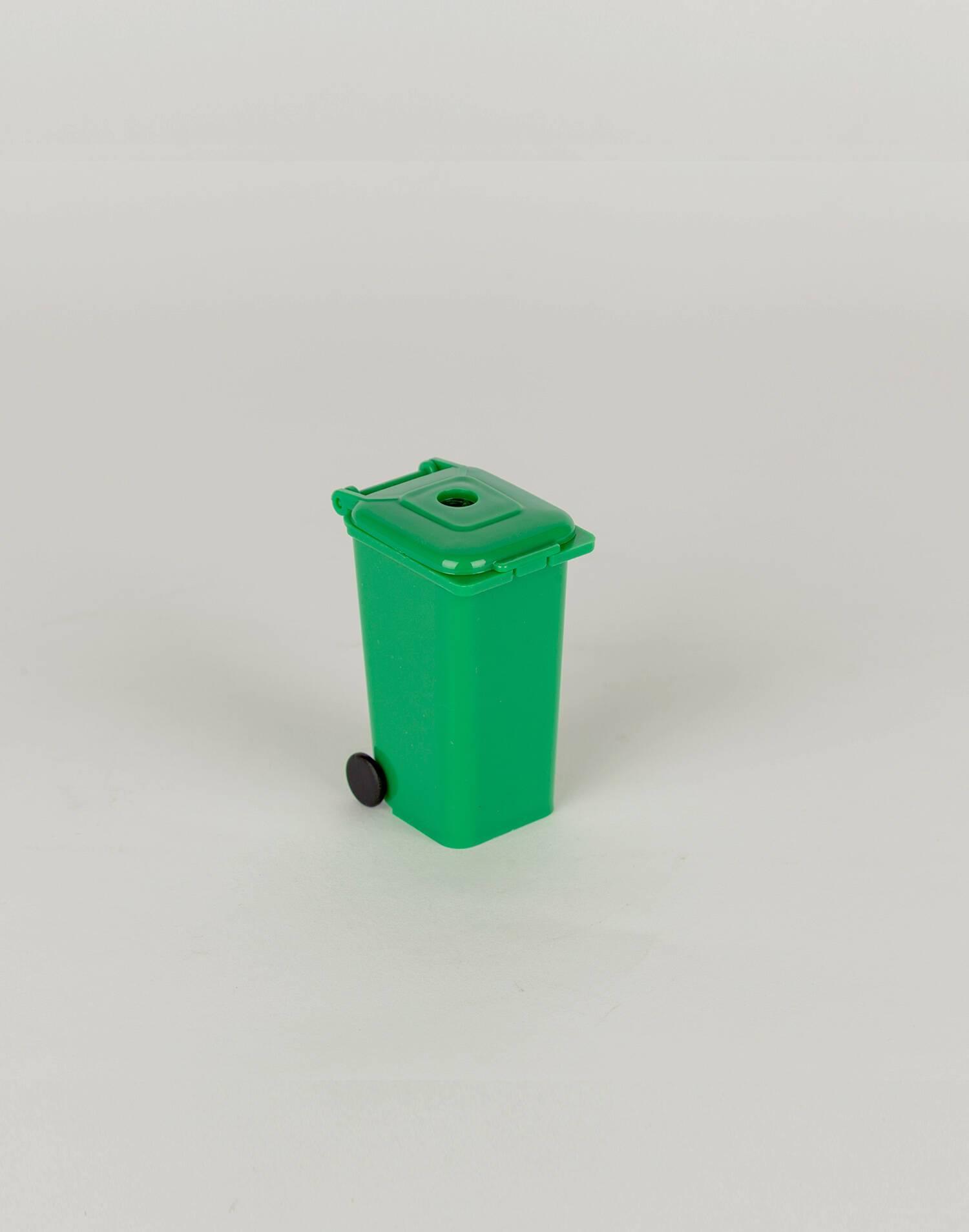 Trash can pencil sharpener