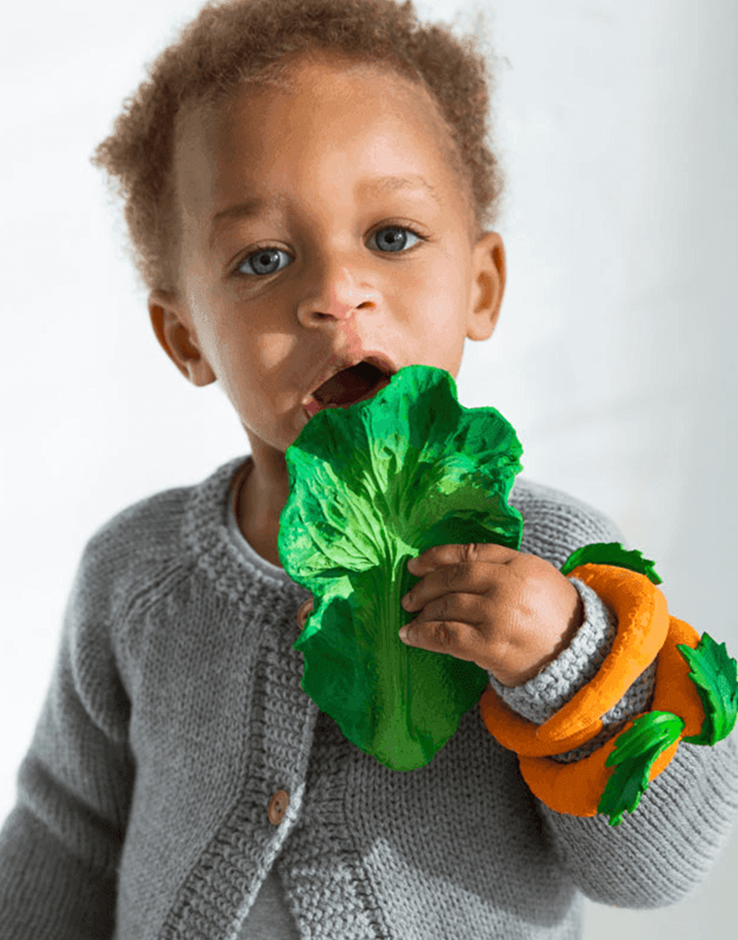 Kendall the kale baby teether
