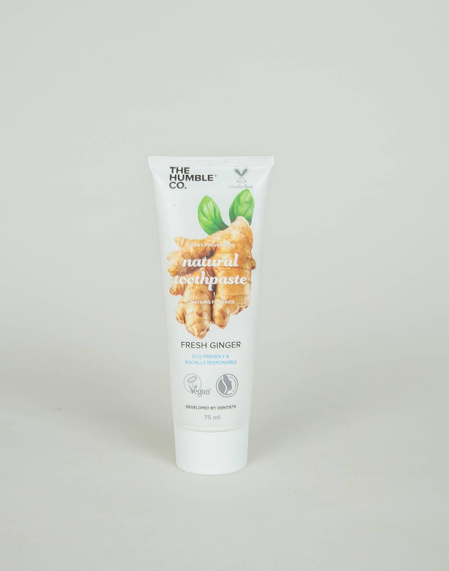 Pasta dental natural ginger