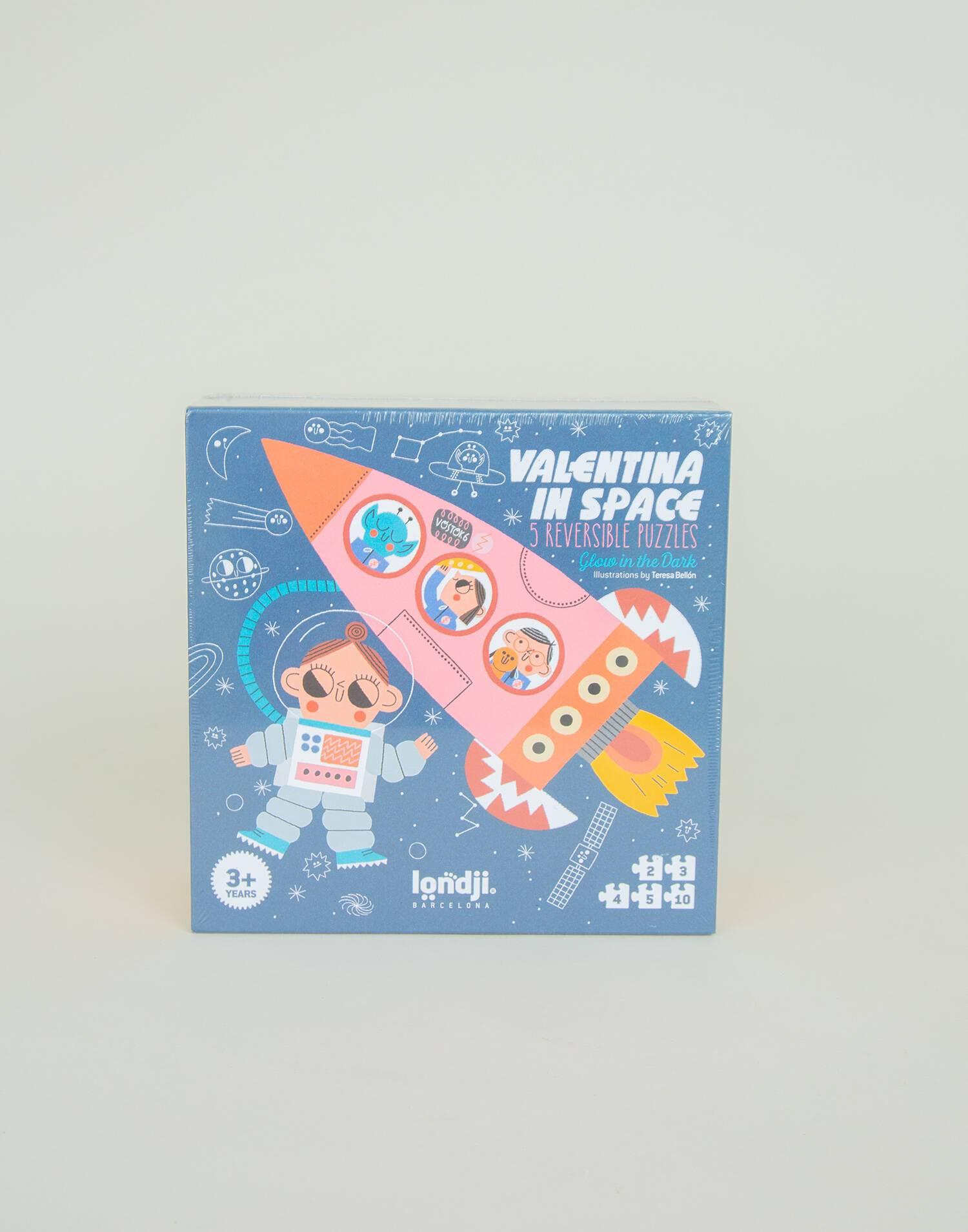 Valentina in space puzzle