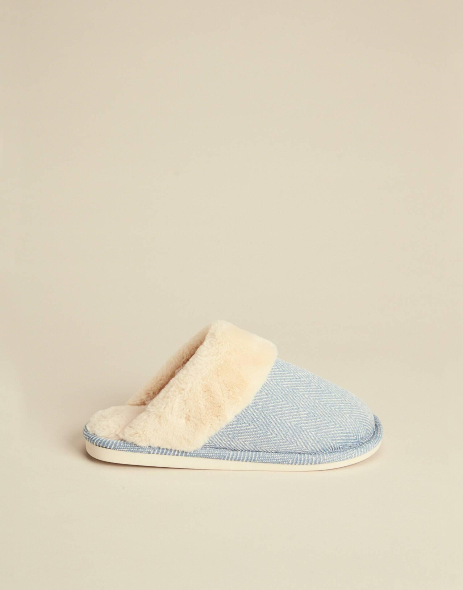 Herringbone slippers