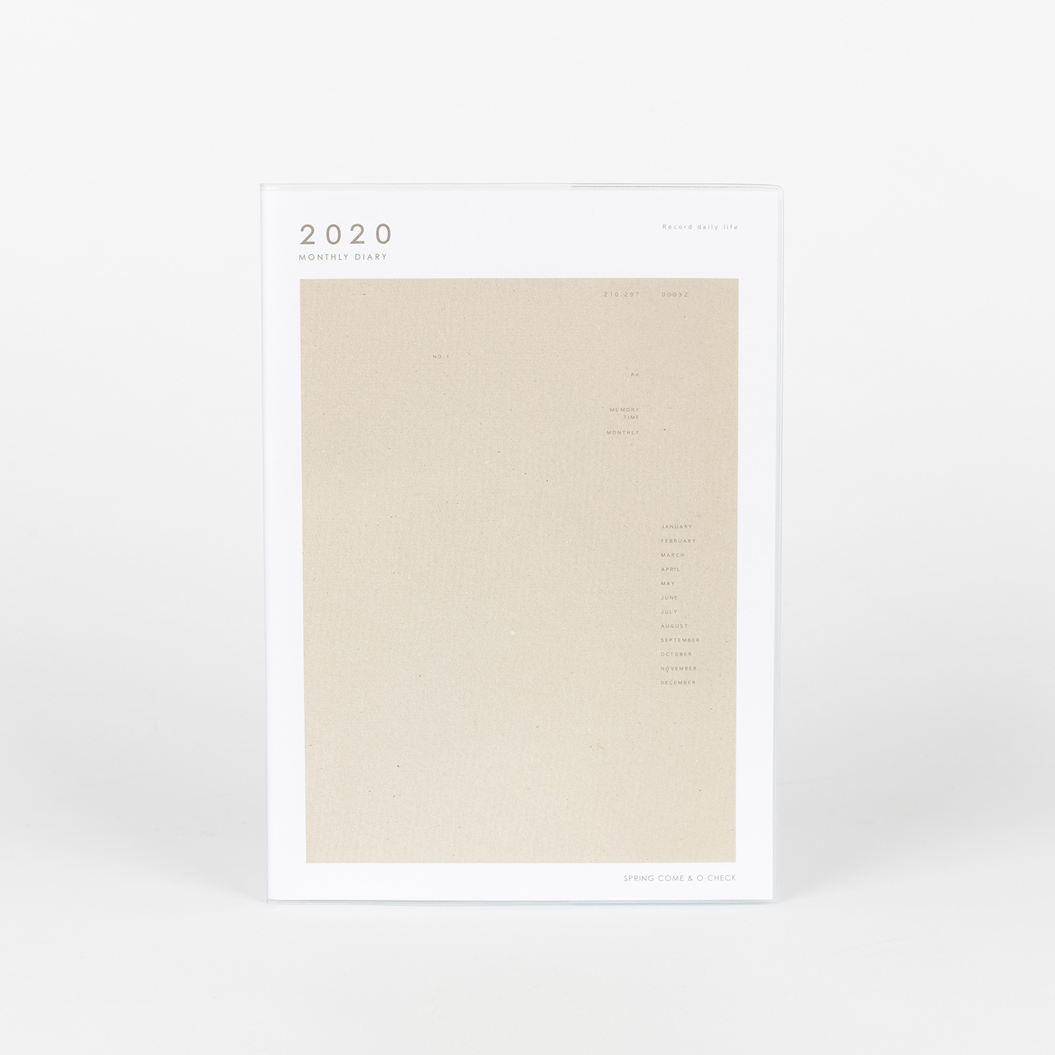 2020 MONTHLY PLANNER