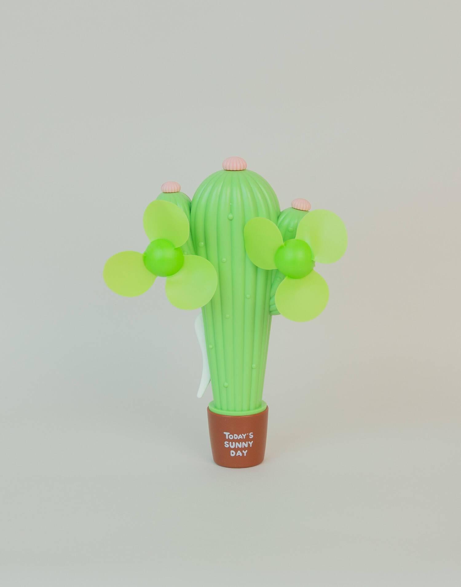 Cactus manual fan
