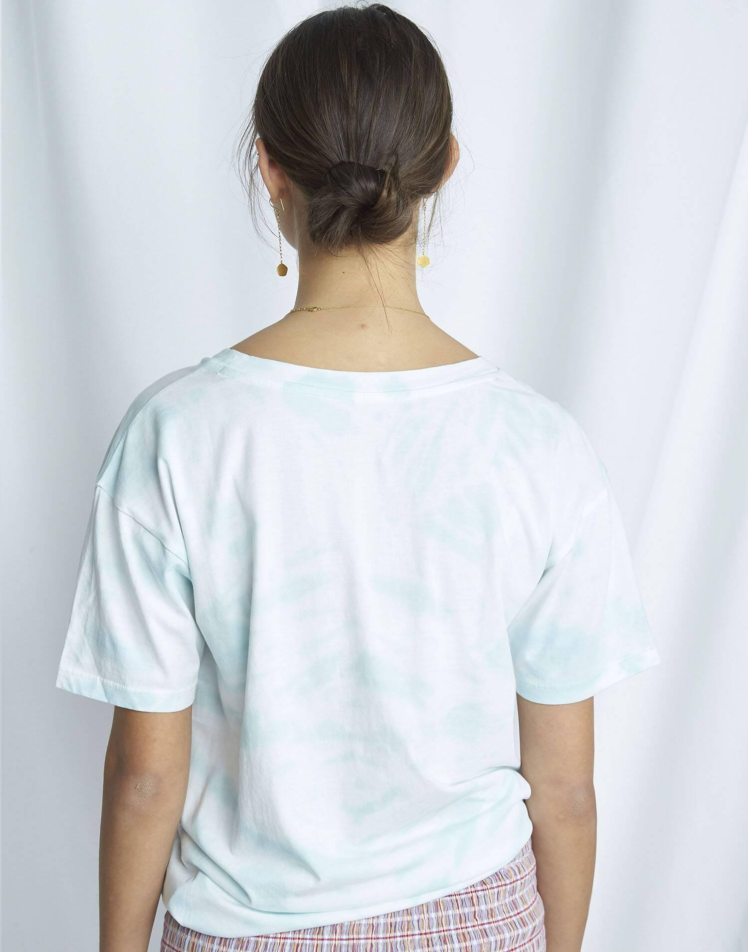 Organic tie-dye t-shirt