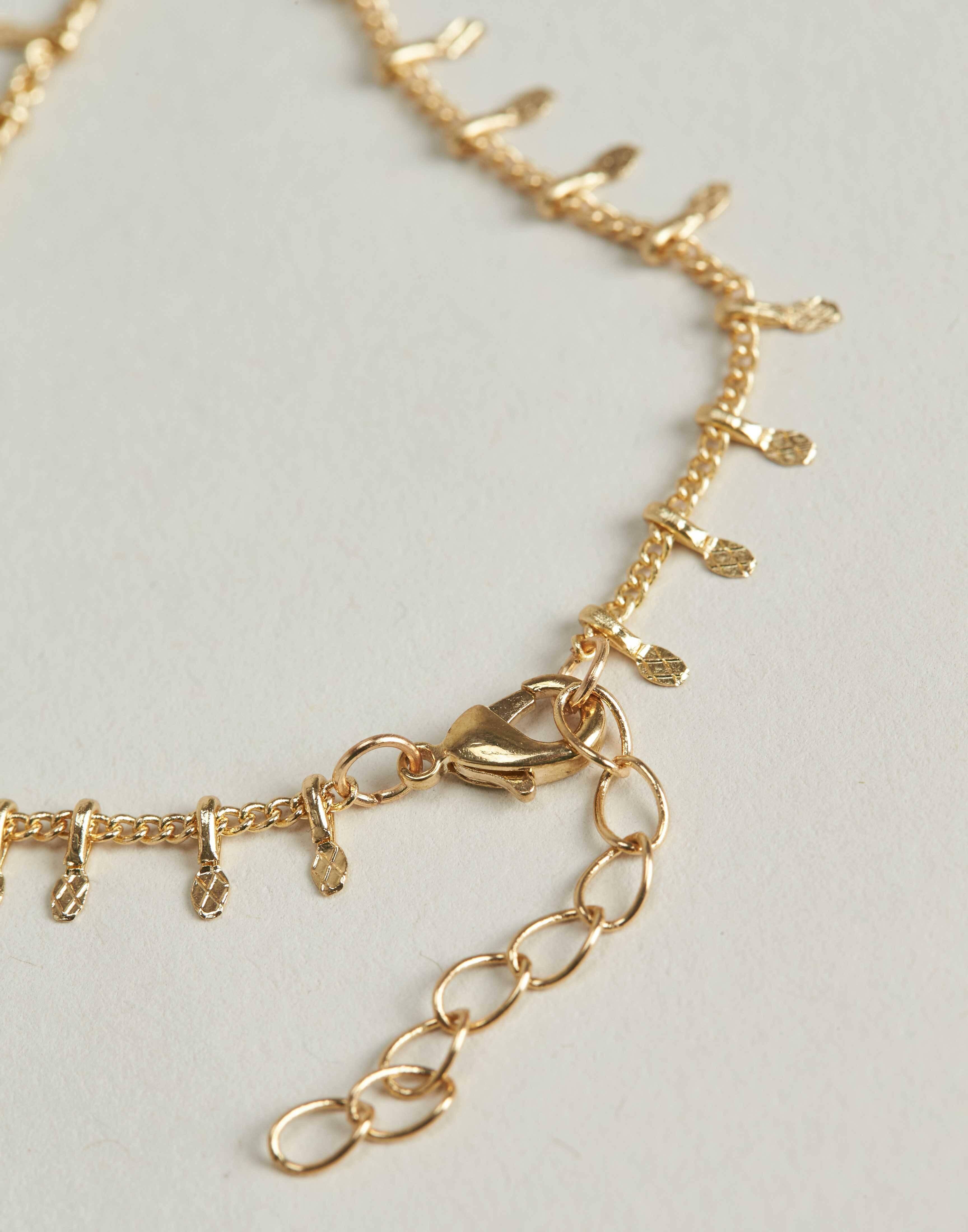 Hanging teardrops bracelet