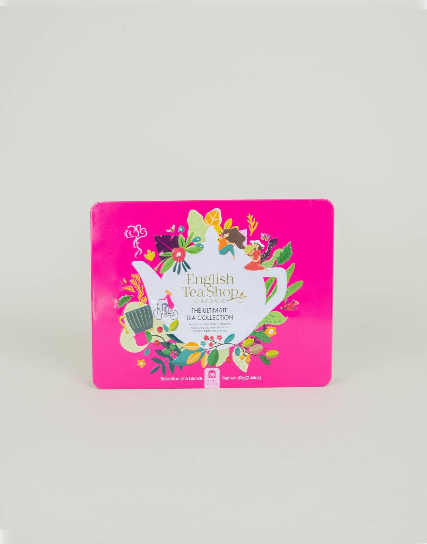 The ultimate tea collection - organic tea can
