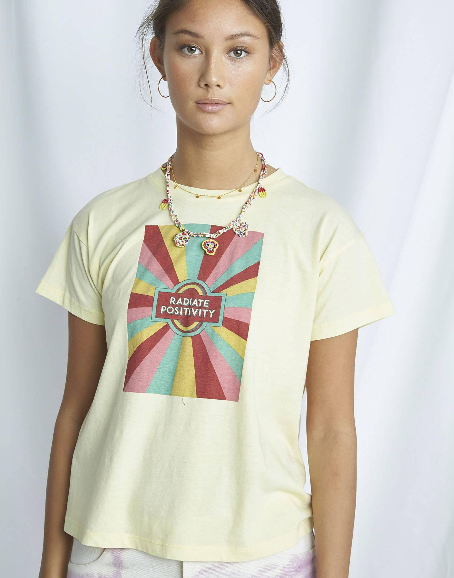 "Organic ""happy"" t-shirt"