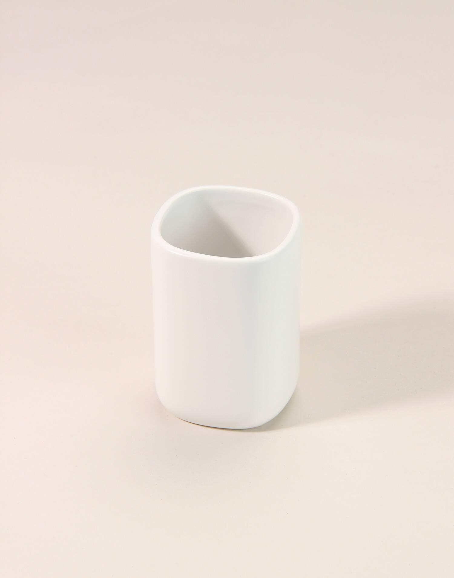 Portacepillos cerámica