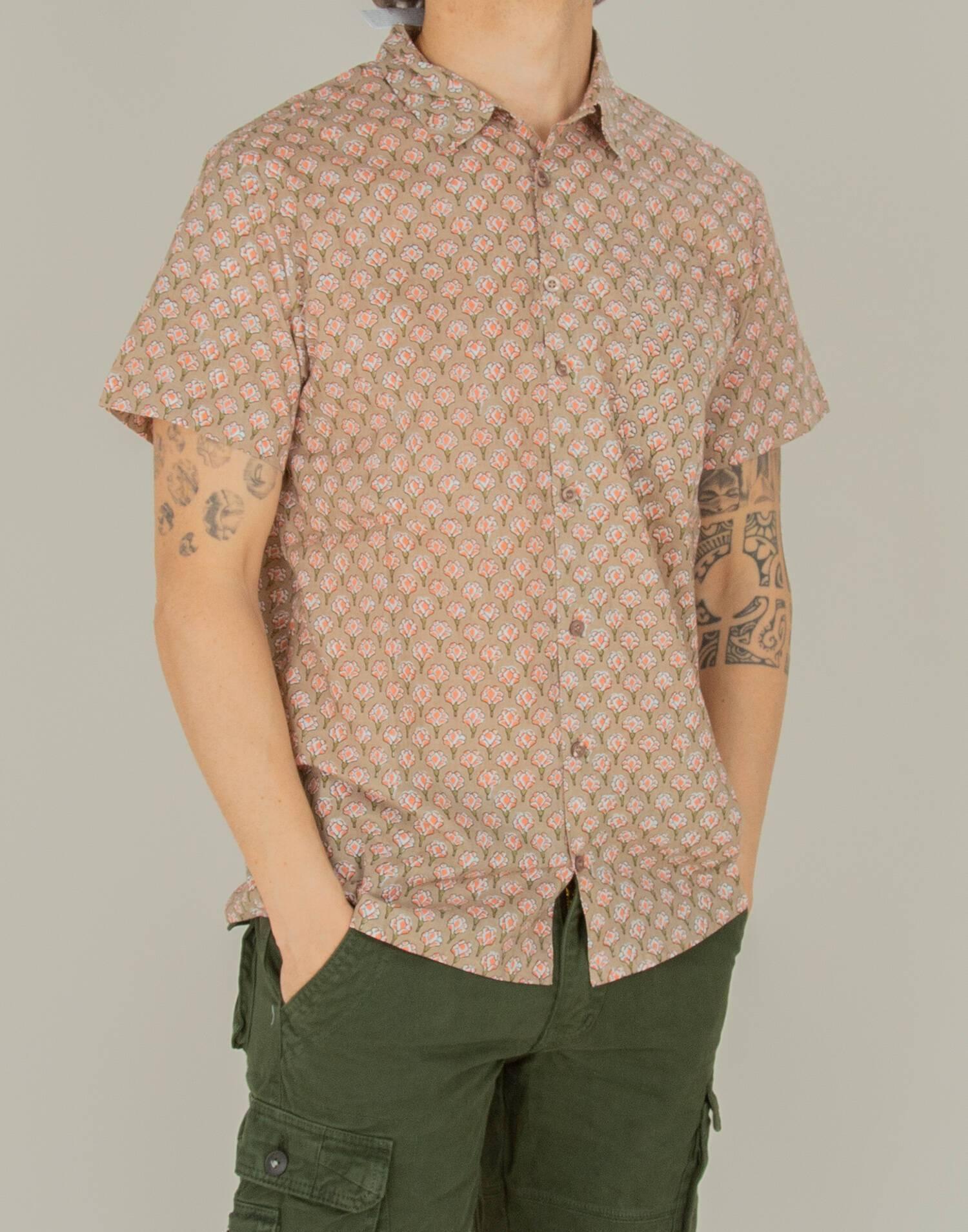 Camisa sello indio hombre