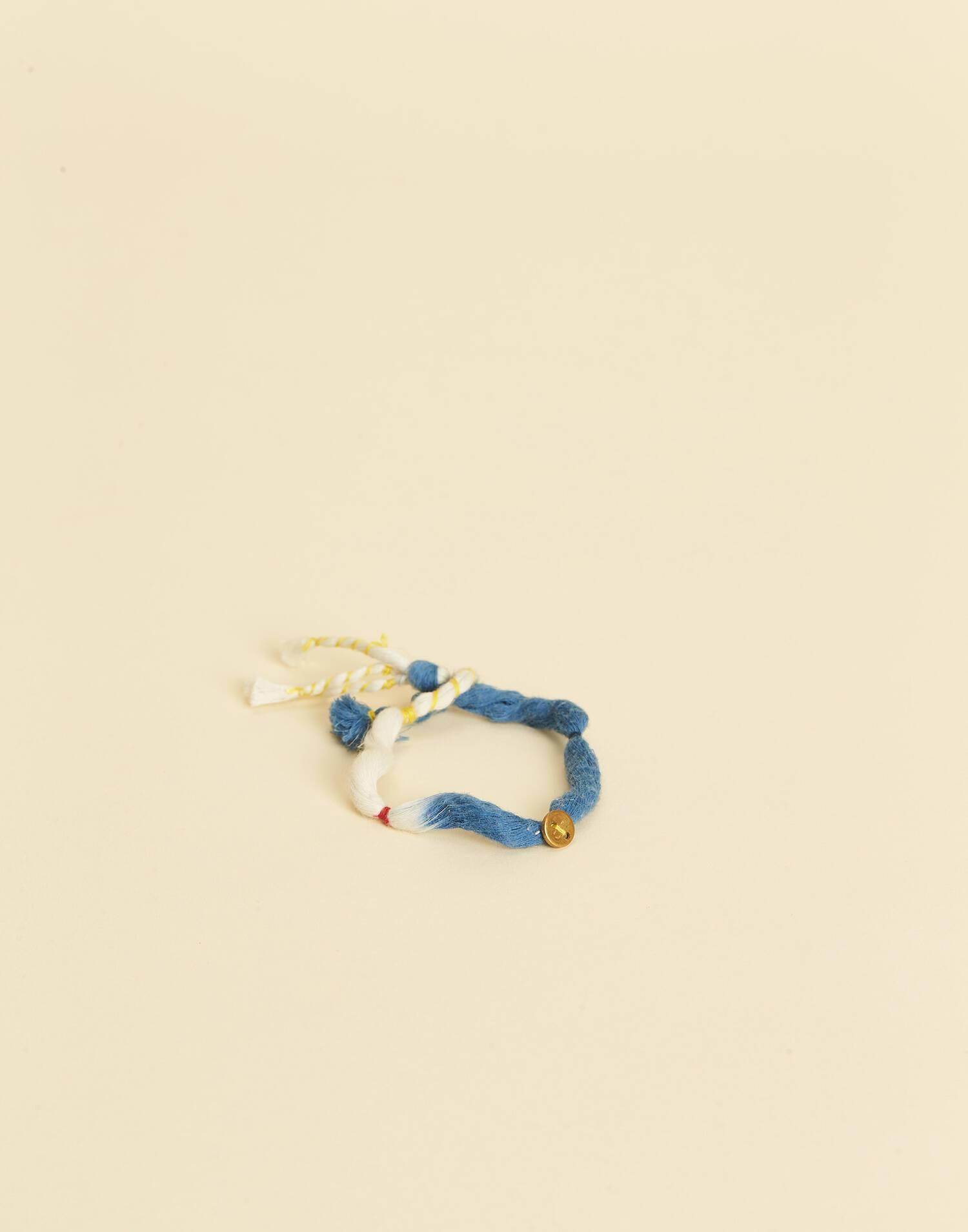 Tie-dye bracelet