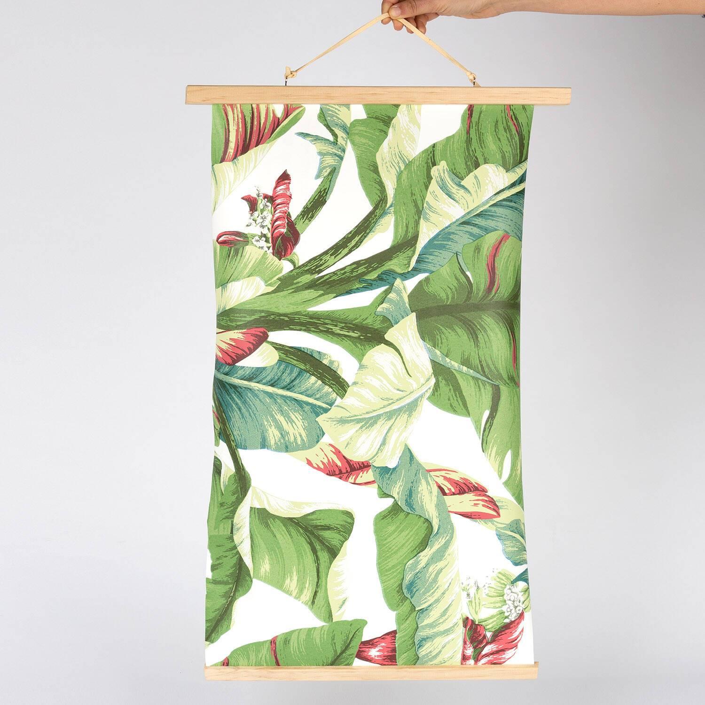 Large Wooden Print Dowel Hanger