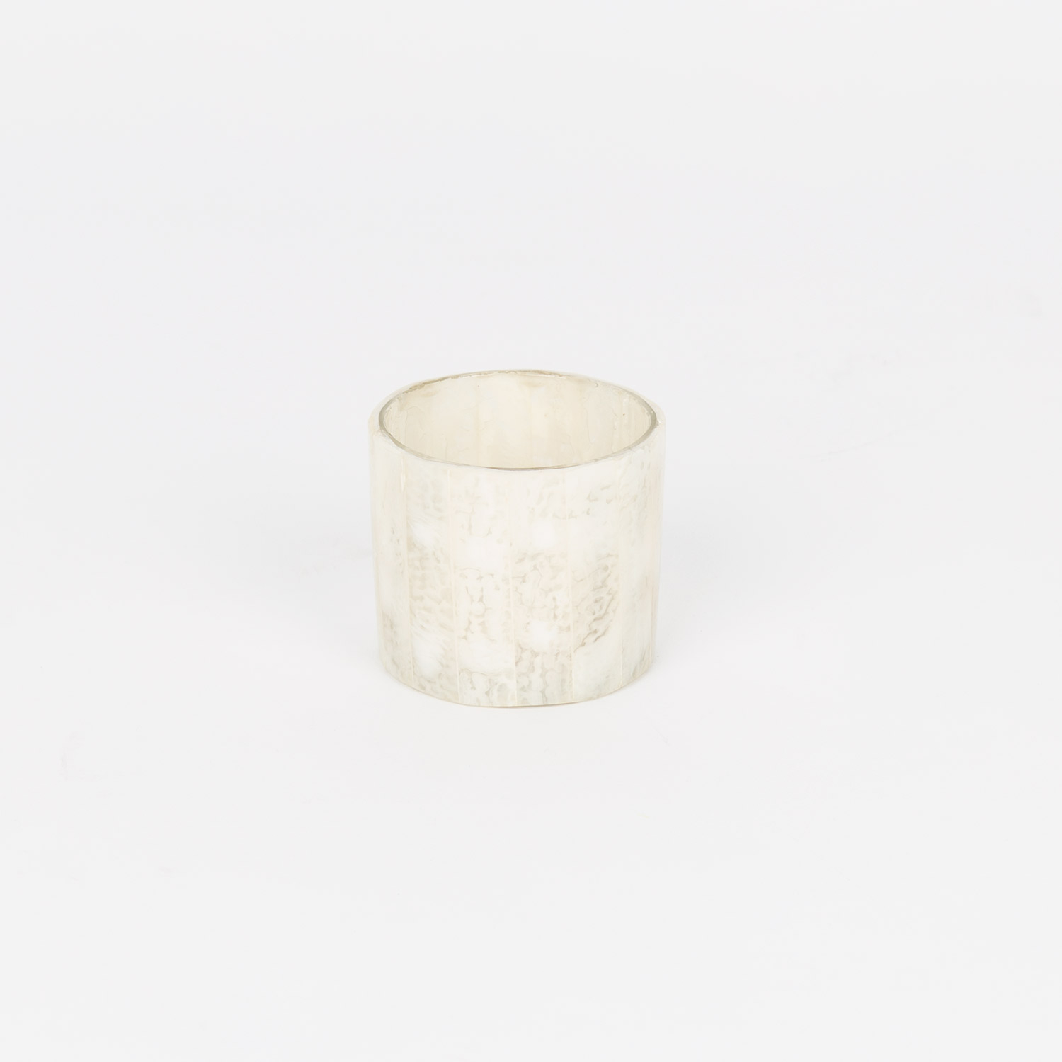CONICAL NACRE CANDLE HOLDER